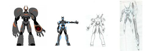 Mecha - a few sketches by the-gates-of-kuma