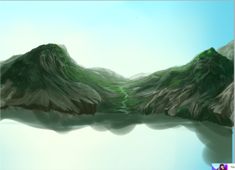 Mountain wip by MilanaMill