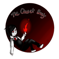 Quiet Boy -Button (Gift) by ScaringSaige