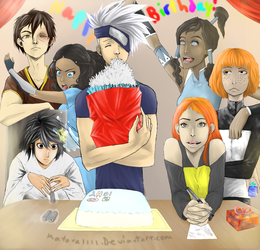 No-Name Birthday Party by Katara1111