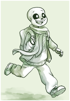 Neotale Sans (Request) by LadyIcepaw