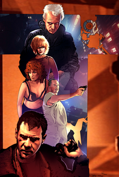Blade Runner by sullivanillustration