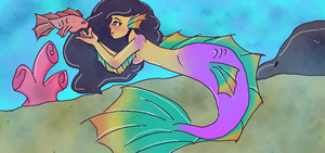 Mermaid Tales: Aphmau by 11LetsDrawPonies11