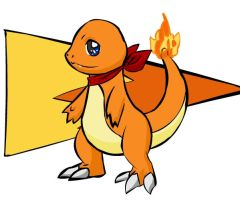Mystery Dungeon: Charmander by Iron-Zing