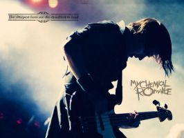 Mikey Way Wallpaper 1 by SisterOfGrace