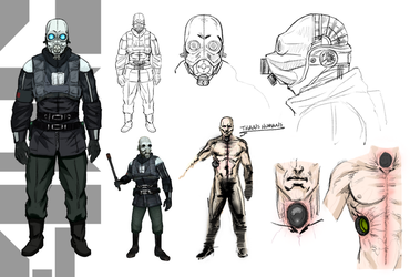 Half-Life 2: Combine Metropolice/Soldier concept by l4dplayer