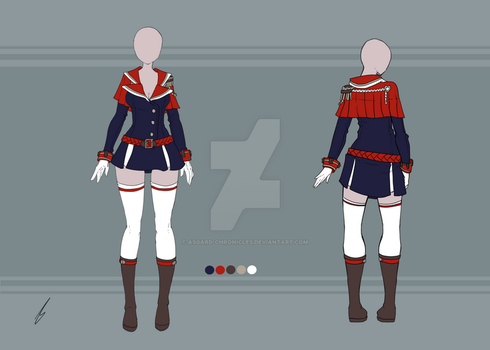 Adoptable - Outfit 11 SOLD by Asgard-Chronicles