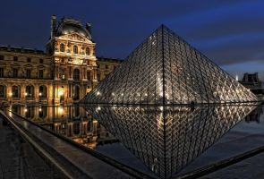 Louvre Reloaded by Aerostylaz