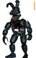 [Blender Internal] Nightmare Bonnie by AustinTheBear