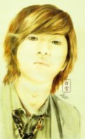 hello onew [coloured]. by byshirayuki