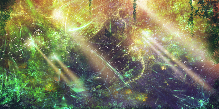 Fractal Forest by S0mniaLuc1d0