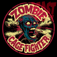 ZOMBIE CAGE FIGHTER: ROUND 13 by pop-monkey