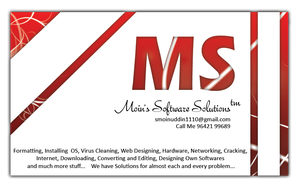 Moin's Business Card 2 by smoinuddin1110