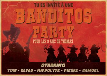 The Banditos Party by Uncleserb