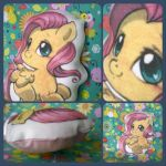 My Little pillow toy - Fluttershy by pepacs