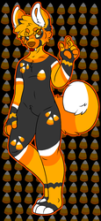 Candy Corn inspire Doggo Auction [open] by nostoppingme