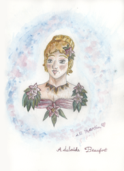 Adelaide Beaufort Portrait by Alexandra-chan