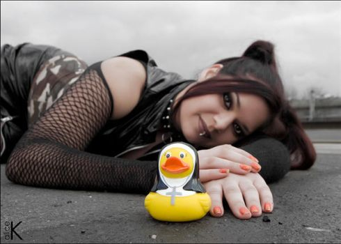 the rubber duck by alice-K