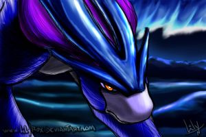 Suicune by LilyRox