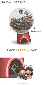 Gumball Machine by hjstory