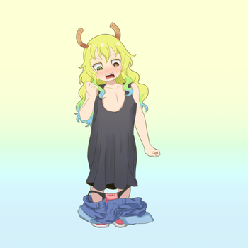 Daily Regress-Lucoa (Miss Kobayashi's Dragon Maid) by Ar-Kayn