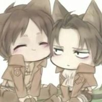 Two characters from attack on titans :) by MLPMusicgirlpro