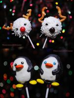 Holiday Cake POPs by kuroi-carousel