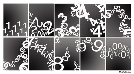 numbers by mmitsdesign