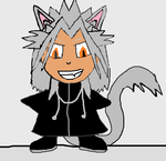 Xemnas the Furry Neko by MysticFantasy1996