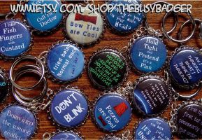 Doctor Who Key Chains by StephaniePride