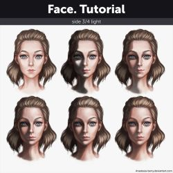 Face. Tutorial by Anastasia-berry