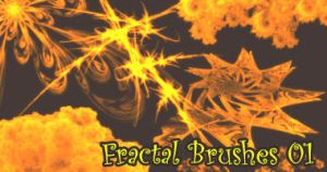 Fractal Brush Set 01 by sundel
