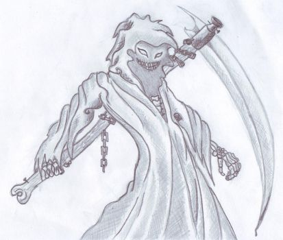 Disturbed reaper by kempogirl007
