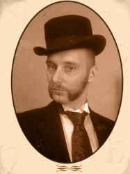 David in sepia by andricongirl