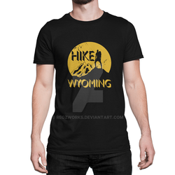 Wyoming Travel Design for Hikers by Regzworks