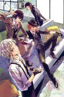 Bungo Stray Dogs by zzyzzyy