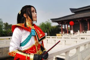 Dynasty Warriors 6 ZhouYu by Rina-Liu