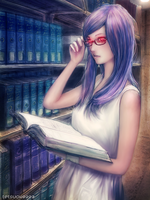 Tokyo Ghoul- Rize by tetsuok9999