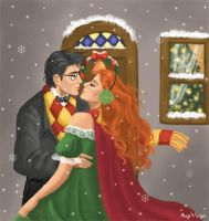 Eloped from the Xmas party by AgiVega