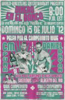 WWE Money in the Bank '12 Lucha Flyer *Spanish by PaulGriffin