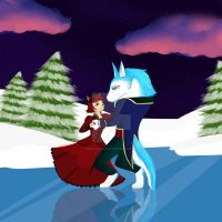 Ice Dance (Commission) by toriegarcia89