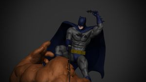 Batman vs. Clayface. by synn1978