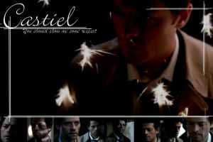 Castiel Wallpaper 3 by raefalcon