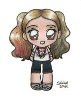 Harley Quinn Chibi - Suicide Squad by SarahsPlushNStuff