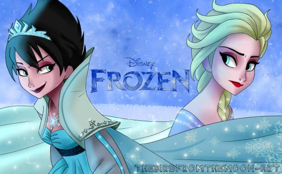 Frozen 2: The evil snow queen. by TheBirdFromTheMoon