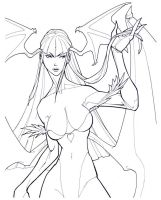Morrigan by TXcrew
