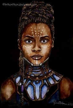 Princess of Wakanda by Brikonfikon