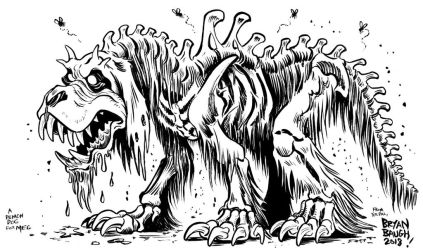 Demon Dog for DAUGHTER OF THE LILLIES by BryanBaugh