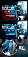Football Explotion Flyer Template by odindesign