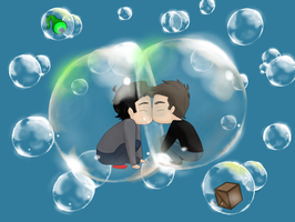 Bubbles (Septiplier) by Lillyanna333